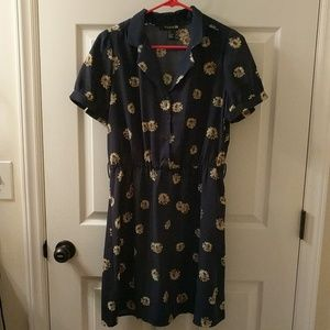 Navy t shirt dress